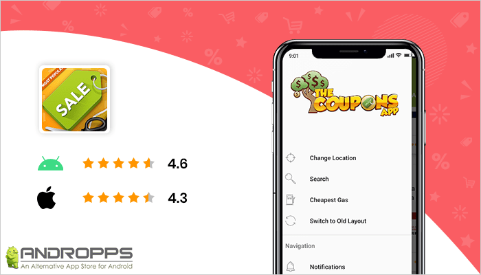 The Coupons App - Deal Finding App